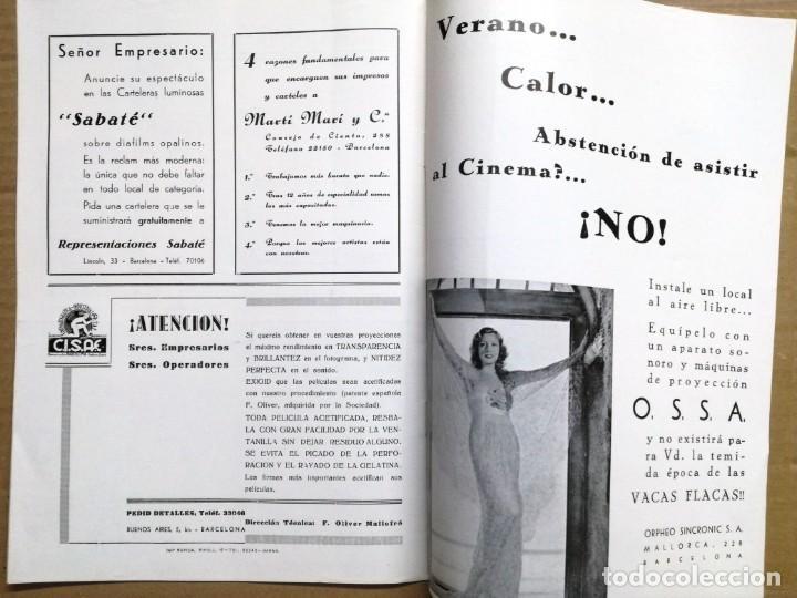 Cine: ACTUALIDADES PARAMOUNT.REVISTA DE CINE JUNIO 1936 Nº 9. VER FOTOS - Foto 10 - 142143910