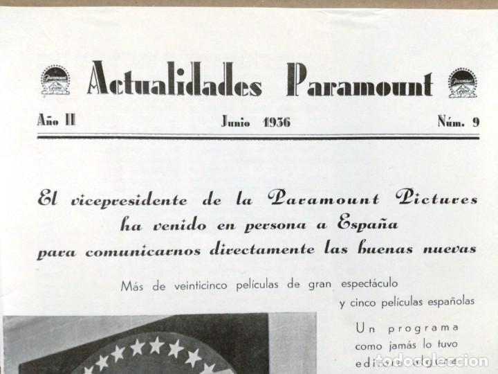 Cine: ACTUALIDADES PARAMOUNT.REVISTA DE CINE JUNIO 1936 Nº 9. VER FOTOS - Foto 13 - 142143910