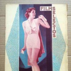 Cine: FILMS SELECTOS.Nº 293.EN PORTADA KAY SUTTON.30 MAYO 1936. Lote 142148294