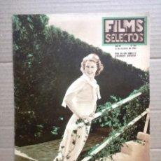 Cine: FILMS SELECTOS Nº 304-OCTUBRE 1936-. Lote 142148970