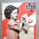 Cine: FILMS SELECTOS.AÑO VI.Nº 261--19 DE OCTUBRE DE 1935.. Lote 153174062