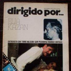 Cine: DIRIGIDO POR... - Nº 36 - AÑO 1976 - MUY BUEN ESTADO. Lote 142189682