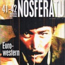 Cine: NOSFERATU, EUROWESTERN. NÚMERO DOBLE 41-42. REVISTA DE CINE. Lote 142463258