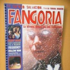 Cine: FANGORIA Nº 2 (2ª ÉPOCA), ED. MEGAMULTIMEDIA, REVISTA CINE TERROR HORROR GORE VIOLENCIA ACCION. Lote 142664602