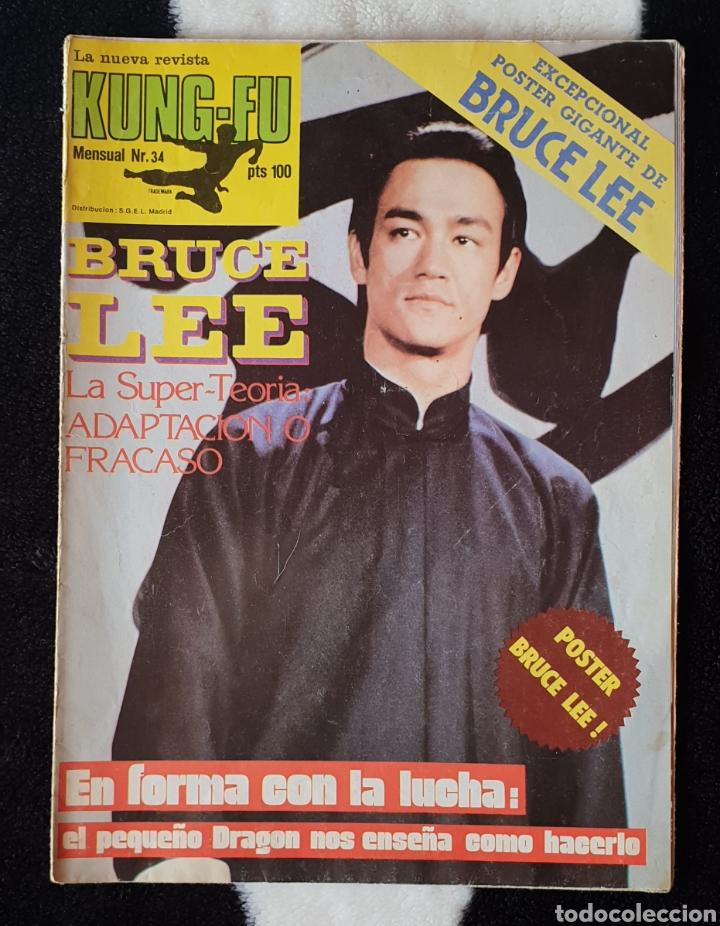 LA NUEVA REVISTA POSTER KUNG FU BRUCE LEE N°34 (Cine - Revistas - Otros)