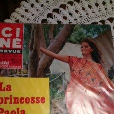 Cine: CLAUDIA CARDINALE CINE REVUE. ADAMO. Lote 142885140