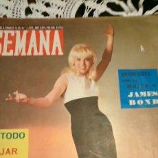 Cinéma: SEMANA KARINA 1965. Lote 142897630