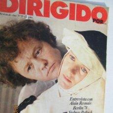 Cine: DIRIGIDO POR REVISTA DE CINE Nº 53. Lote 142916230