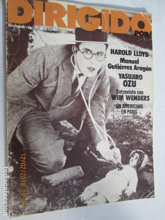DIRIGIDO POR REVISTA DE CINE Nº 82 - ABRIL 1981 (Cine - Revistas - Dirigido por)
