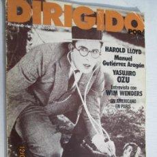 Cine: DIRIGIDO POR REVISTA DE CINE Nº 82 - ABRIL 1981 . Lote 142916350