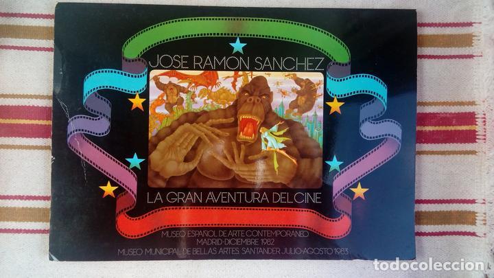 LA GRAN AVENTURA DEL CINE: JOSE RAMON SANCHEZ: MUSEO ESPAÑOL E ARTE CONTEMPORANEO- MADRID 1982 (Cine - Revistas - La Gran Historia del cine)