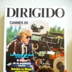 Cine: LOTE DE 9 REVISTAS DIRIGIDO POR NÚMEROS 151 A 159 DE OCTUBRE 1987 A JUNIO 1988. Lote 143160322
