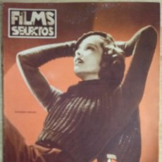 Cine: FILMS SELECTOS Nº 304 - OCTUBRE 1936 - KATHARINE HEPBURN. Lote 143265674