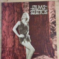 Cine: FILMS SELECTOS Nº 315 - ANITA LOUISE. Lote 143267154