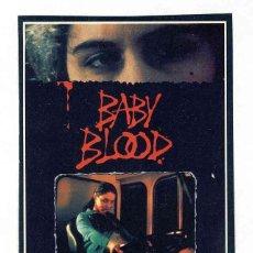 Cine: FOLLETO DE CINE RECORTE DE REVISTA: BABY BOOD. Lote 143791386