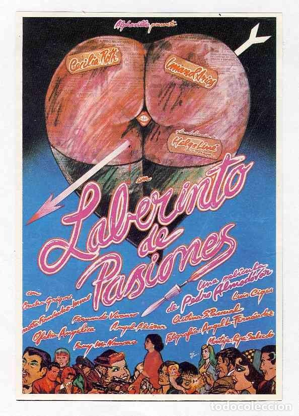 FOLLETO DE CINE RECORTE DE REVISTA: LABERINTO DE PASIONES (Cine - Reproducciones de carteles, folletos...)