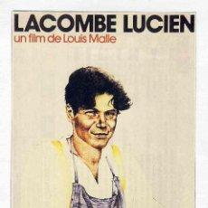 Cine: FOLLETO DE CINE RECORTE DE REVISTA: LACOMBE LUCIEN. Lote 143792398