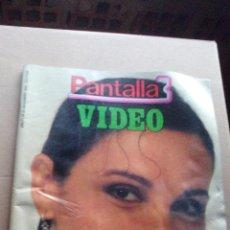Cine: REVISTA PANTALLA 3 - NUMERO 34 - NOVIEMBRE 1985. Lote 144084814
