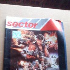 Cine: REVISTA SECTOR - AÑO 1987. Lote 144085226