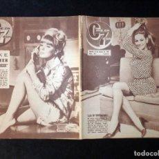 Cine: REVISTA CINE EN 7 DIAS C7. Nº 257, 1966. CLAUDINE AUGER, RAPHAEL, CAROL LYNLEY, ELKE SOMMER. Lote 144152134