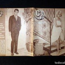 Cine: REVISTA CINE EN 7 DIAS C7. Nº 264, 1966. BEBA LANCAR, CLAUDIA CARDINALE, LIZ TAYLOR, SUZANNE LLOYD. Lote 144152354