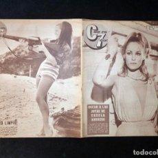 Cine: REVISTA CINE EN 7 DIAS C7. Nº 266, 1966. URSULA ANDRESS, ROBERTO CAMARDIEL, VIRNA LISI, GRACE KELLY,. Lote 144152842