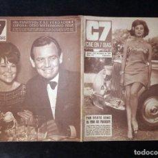 Cine: REVISTA CINE EN 7 DIAS C7. Nº 291, 1966. MIRELLA MARAVIDI, SARA MONTIEL, ANALÍA GADÉ. Lote 144153330