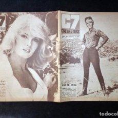 Cine: REVISTA CINE EN 7 DIAS C7. Nº 293, 1966. ABBY DALTON, ADOLFO MARSILLACH, KATRIN SCHAAKE, LOS SIREX. Lote 144153458