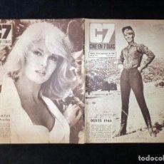 Cine: REVISTA CINE EN 7 DIAS C7. Nº 293, 1966. ABBY DALTON, ADOLFO MARSILLACH, KATRIN SCHAAKE, LOS SIREX (. Lote 144153522