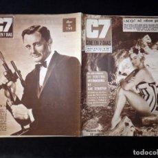 Cine: REVISTA CINE EN 7 DIAS C7. Nº 324, 1967. ESPECIAL XV FESTIVAL SAN SEBASTIAN, CRISTINA GALBO, LEA ZAF. Lote 144153846