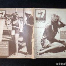 Cine: REVISTA CINE EN 7 DIAS C7. Nº 328, 1967. ELKE SOMMER, Mª ANTONIA REDONDO, DORIS DAY, PATRICIA BLAIR. Lote 144153954