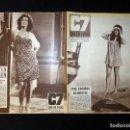 Cine: REVISTA CINE EN 7 DIAS C7. Nº 329, 1967. CRISTINA GALBÓ, CARLOS ESTRADA, ROSSANA SCHIAFFINO, VIDAL M. Lote 144154034