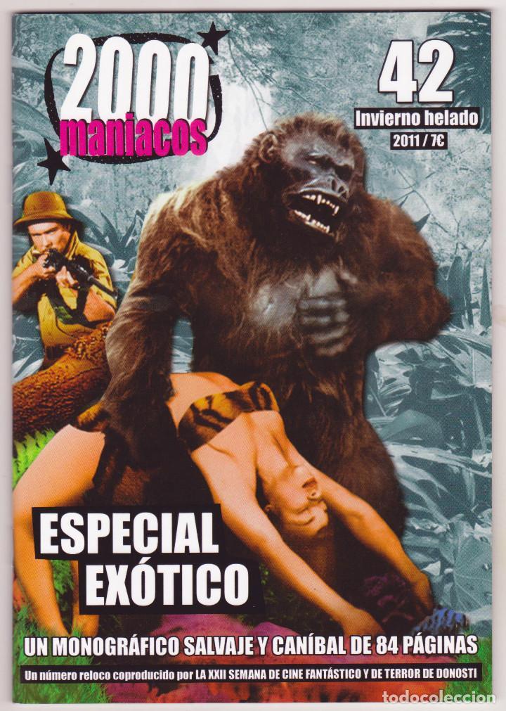 2000 MANÍACOS - NÚMERO 42 - PERFECTO ESTADO (Cine - Revistas - Otros)