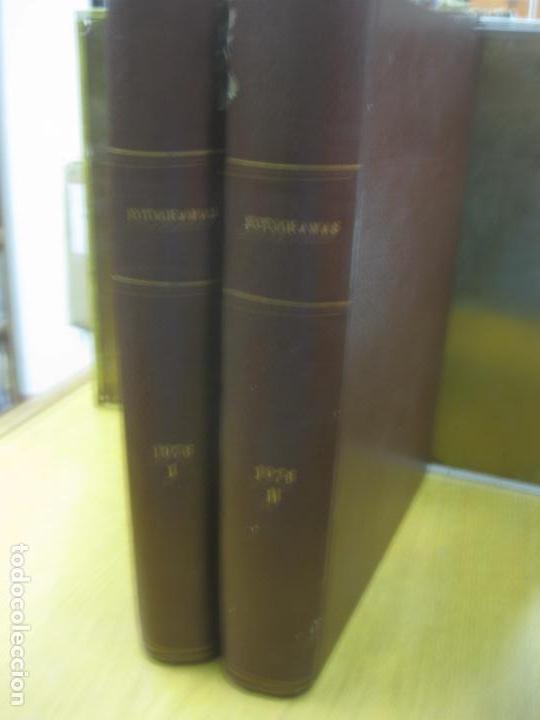 FOTOGRAMAS. 40 REVISTAS EN 2 TOMOS ENCUADERNADOS. NUMEROS 1431 A 1472. VER DESCRIPCION... 1976 (Cine - Revistas - Fotogramas)