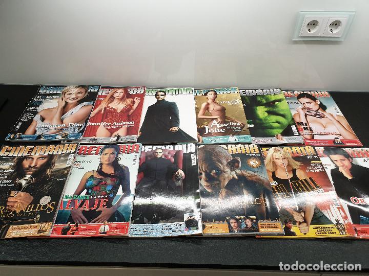 Cine: Lote 41 revistas de CINEMANÍA + 7 suplementos + 3 CDs + 10 películas (Envío 10,02€) - Foto 3 - 144282678