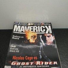 Cine: LOTE 12 REVISTAS MAVERICK. AÑOS 2007 Y 2008. INCLUYE EL NÚMERO 1. (ENVÍO 4,31€). Lote 144286618