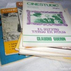 Cine: CINESTUDIO 11 REVISTAS DE AÑOS 60 / 70, 3 DOBLES. Lote 144379974
