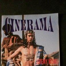 Cine: CINERAMA Nº 20-JAMES BOND-INDIANA JONES-RIVER PHOENIX-LA FAMILIA ADDAMS-STEPHEN KING. Lote 144502598