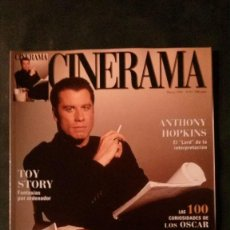 Cine: CINERAMA 45-1996-JOHN TRAVOLTA-MARILYN MONROE-ANTHONY HOPKINS-URSULA ANDRESS-TOY STORY. Lote 144506706