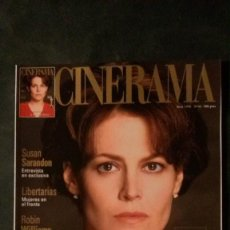 Cine: CINERAMA 46-1996-SIGOURNEY WEAVER-WILLIAM HOLDEN-VISCONTI-DEPARDIEU-SUSAN SARANDON-ALEC BALDWIN. Lote 144506774