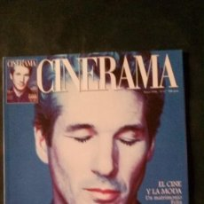 Cine: CINERAMA 47-1996-RICHARD GERE-JOHN MALKOVICH-AUDREY HEPBURN-JEAN SIMMONS-VICENTE MINNELLI. Lote 144507750