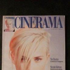 Cine: CINERAMA 55-1997-PATRICIA ARQUETTE-NICOLE KIDMAN-SANDRA BULLOCK-NANCHO NOVO-TIM BURTON. Lote 144510550