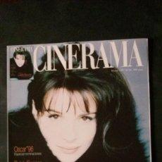 Cine: CINERAMA 56-1997-JULIETTE BINOCHE-EMMA SUÁREZ-LEONARDO DI CAPRIO-STAR WARS. Lote 144510650