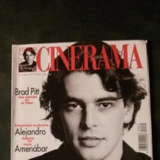 Cine: CINERAMA 64-1997-EDUARDO NORIEGA-ALEJANDRO AMENÁBAR-BRAD PITT-GRACE KELLY-INGMAR BERGMAN. Lote 144515770