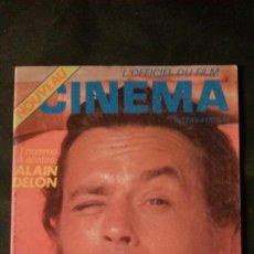 Cine: L´OFFICIEL DU FILM CINEMA Nº 9-ALAIN DELON-ANNIE GIRARDOT-SYLVIA KRISTEL. Lote 165512469