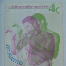 Cine: REVISTA 4C ( 4 CINES : PATHÉ - BECQUER - FLORIDA - ANDALUCIA, DESAPARECIDOS ), Nº 7 . SEVILLA 1983.. Lote 144796510