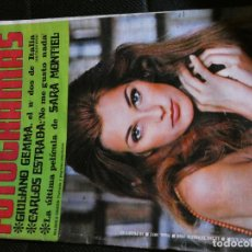 Cine: REVISTA NUEVO FOTOGRAMAS 1052 13 DICIEMBRE 1968 MARIKA GREEN SARA MONTIEL CARLOS ESTRADA. Lote 145023210