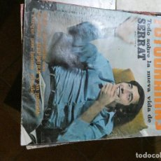 Cine: REVISTA NUEVO FOTOGRAMAS 1059 31 ENERO 1969 SERRAT AUDREY HEPBURN. Lote 145023354