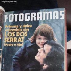 Cine: FOTOGRAMAS TOMO CONTENIENDO Nº 1316 A 1328 DEL AÑO 1974. Lote 145069254