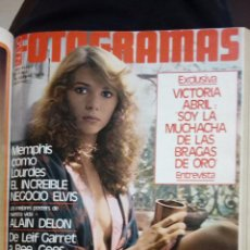 Cine: FOTOGRAMAS TOMO CONTENIENDO Nº 1605 A 1618 DEL AÑO 1979 EXTRA CON TODAS LAS PELICULAS DEL AÑO. Lote 145069974